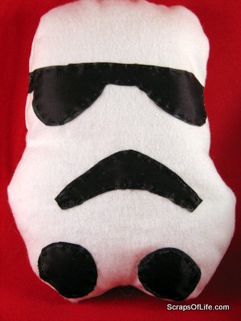 Storm Trooper stuffed toy