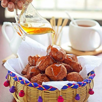 Janmashtami Special : Banana Fritters or Bengali Kolar Bora