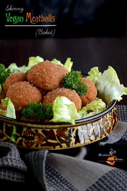 Gluten Free Meatless Meatballs