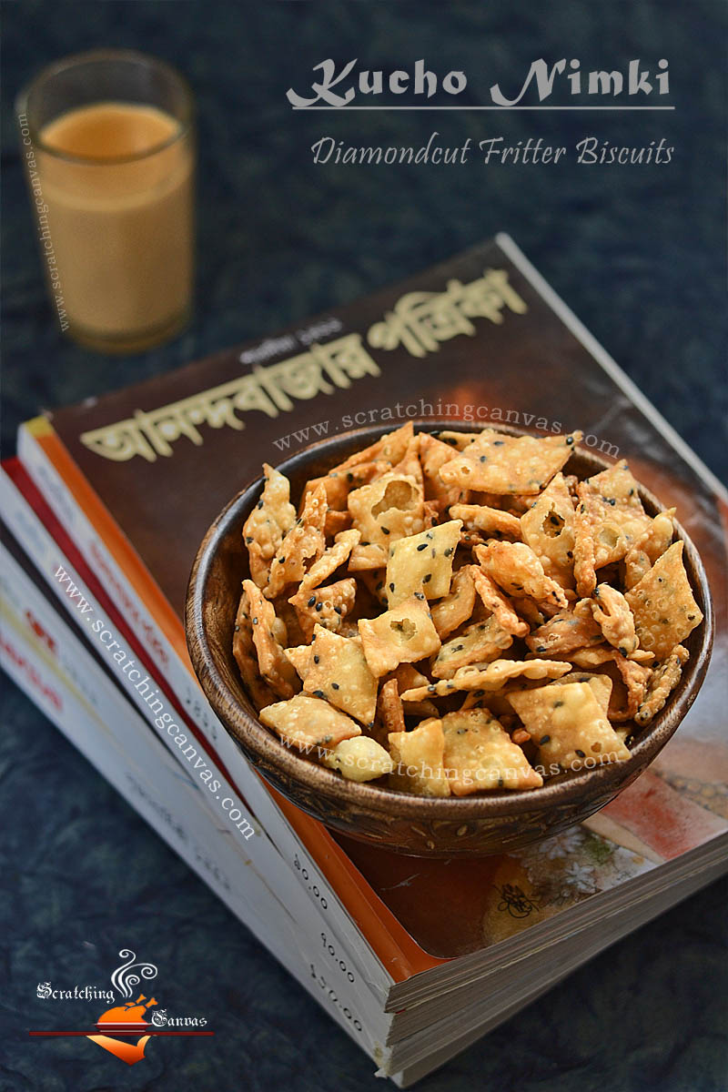 Bengali Nimki Food Photography Styling