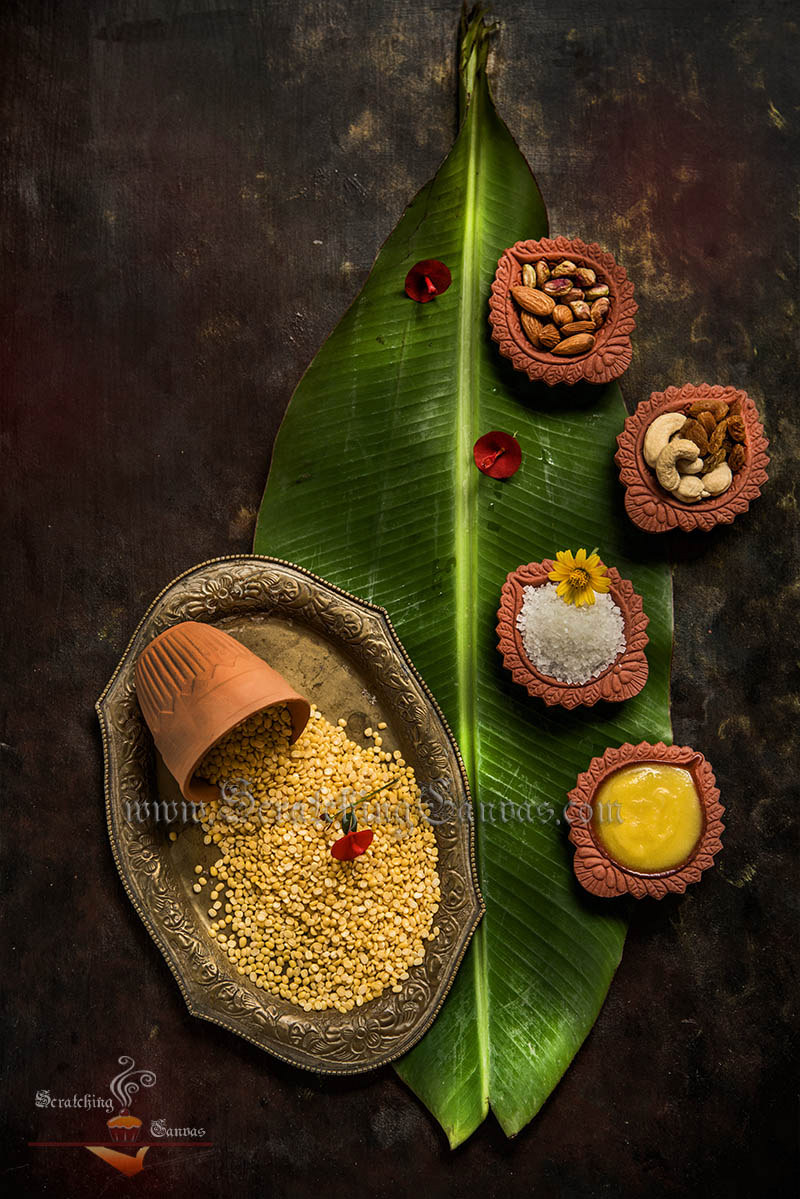 Moong Dal Moody Food Photography Styling