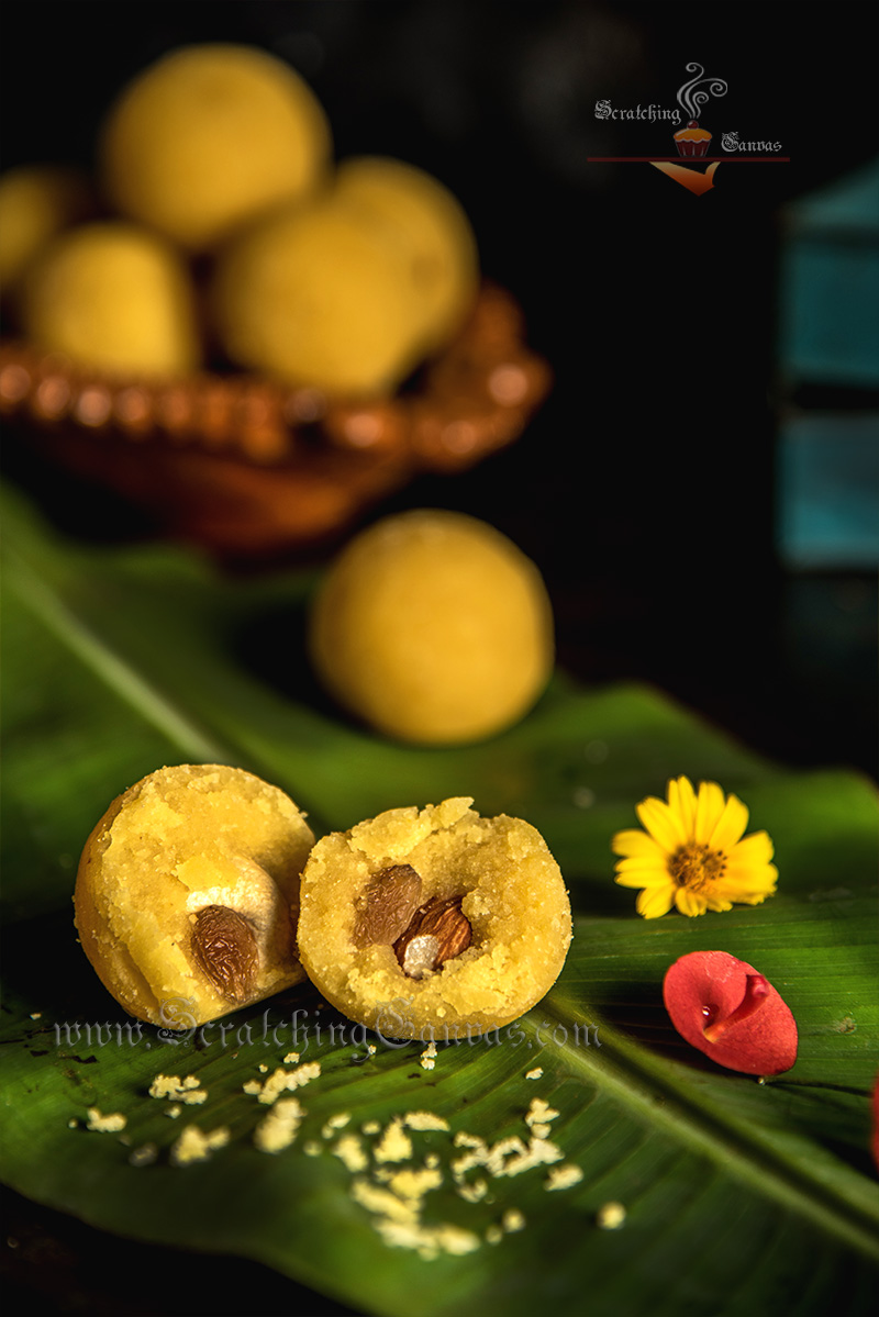 Moong Dal Ladoo Video Recipe