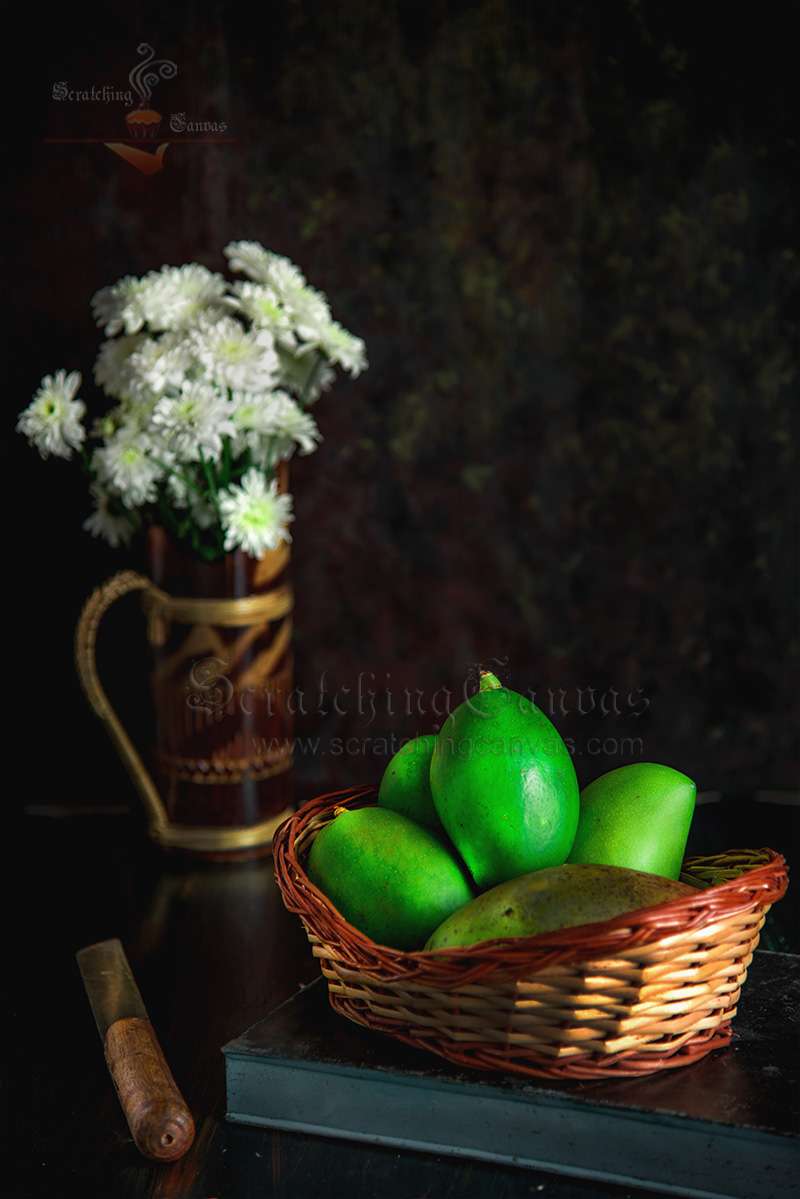 Fresh Mango Food Photography Styling