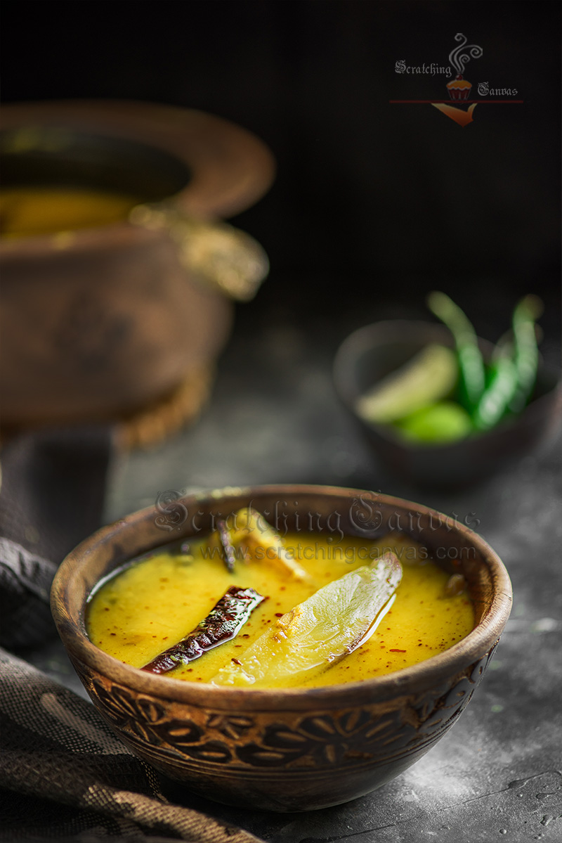 Bengali Tok Dal Food Photography Styling