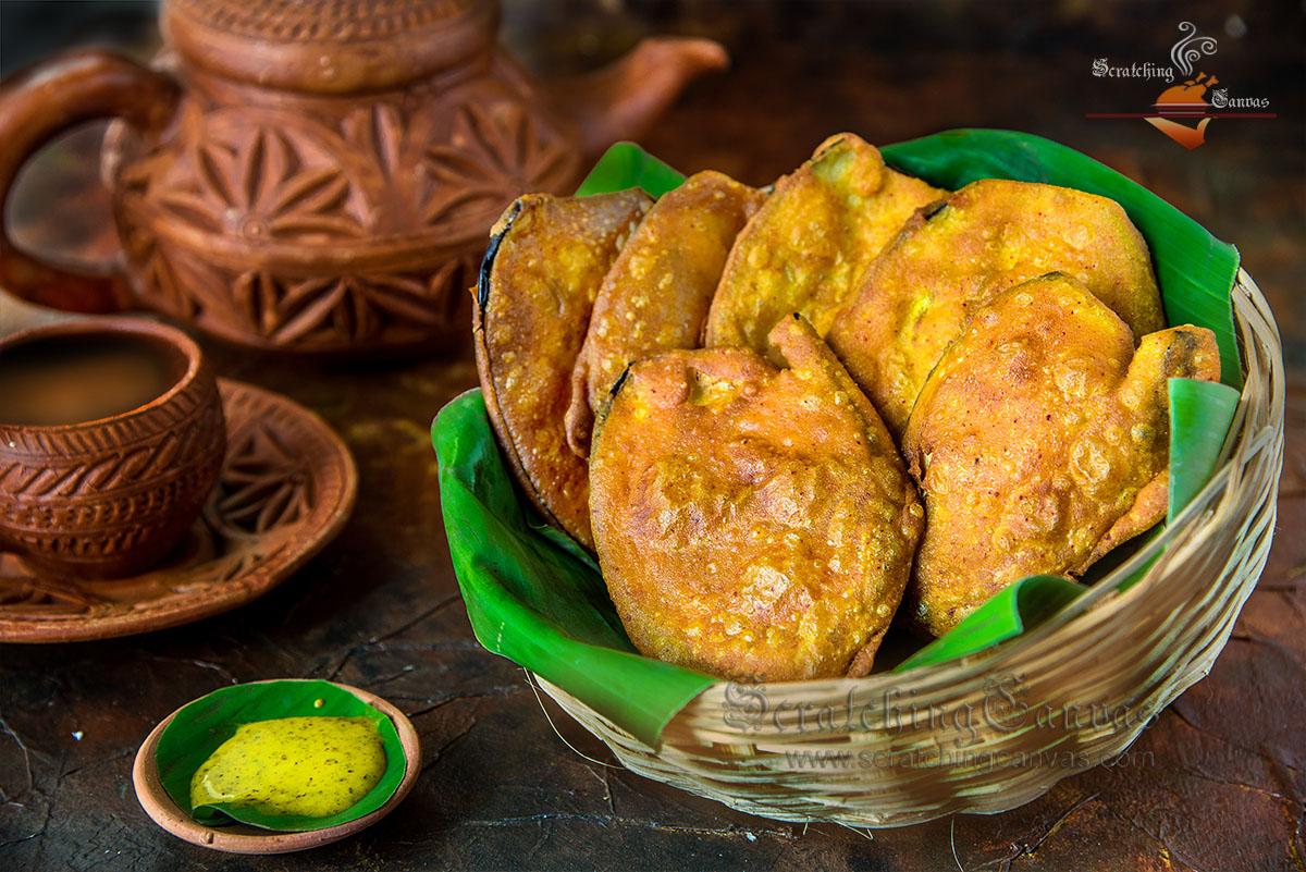 Bengali Beguni Food Photography Styling