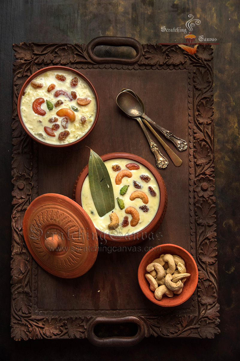 Bengali Payesh Kheer Food Photography Styling