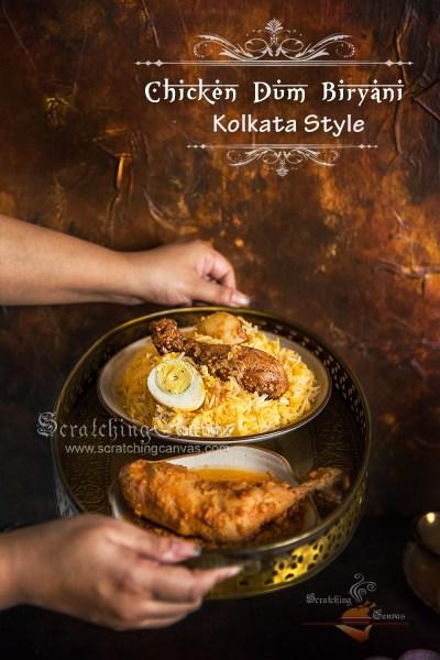 Kolkata Chicken Biryani | Bengali style Biryani | Murgh Dum Biryani
