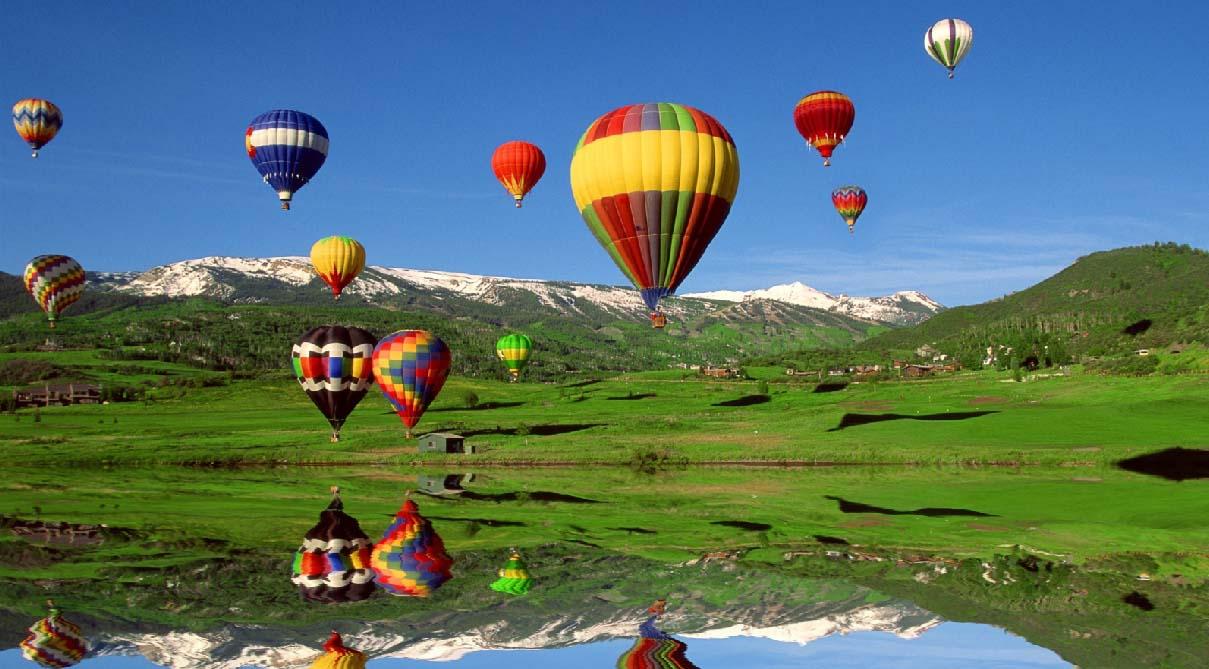 Ballooning Screensaver