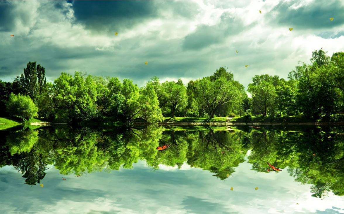 Beautiful Lakes Screensaver