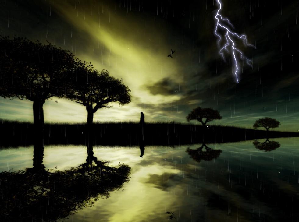 Beautiful Rain Screensaver