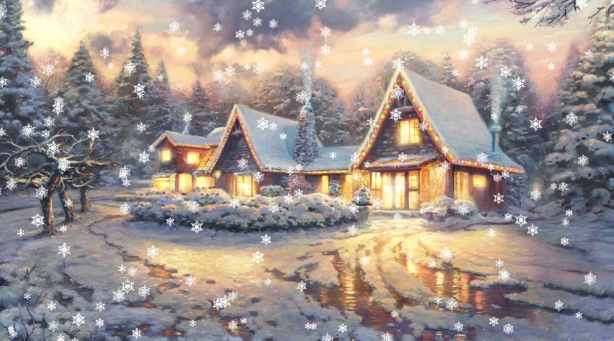 Christmas Eve Screensaver