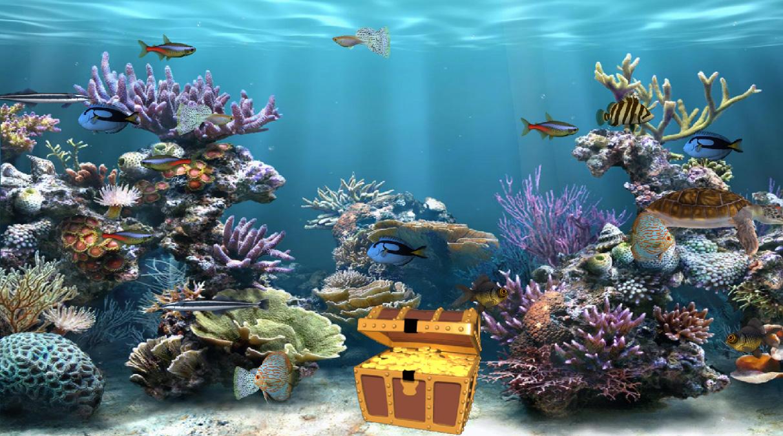 Clear Aquarium Screensaver