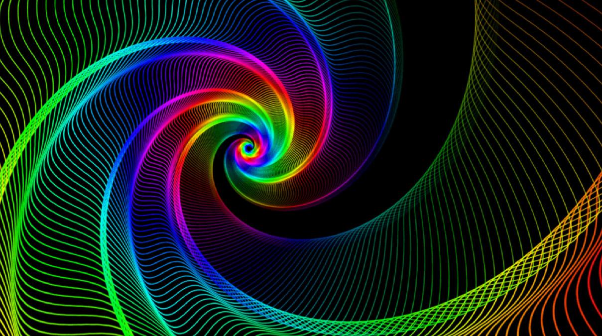 Endless Color Screensaver