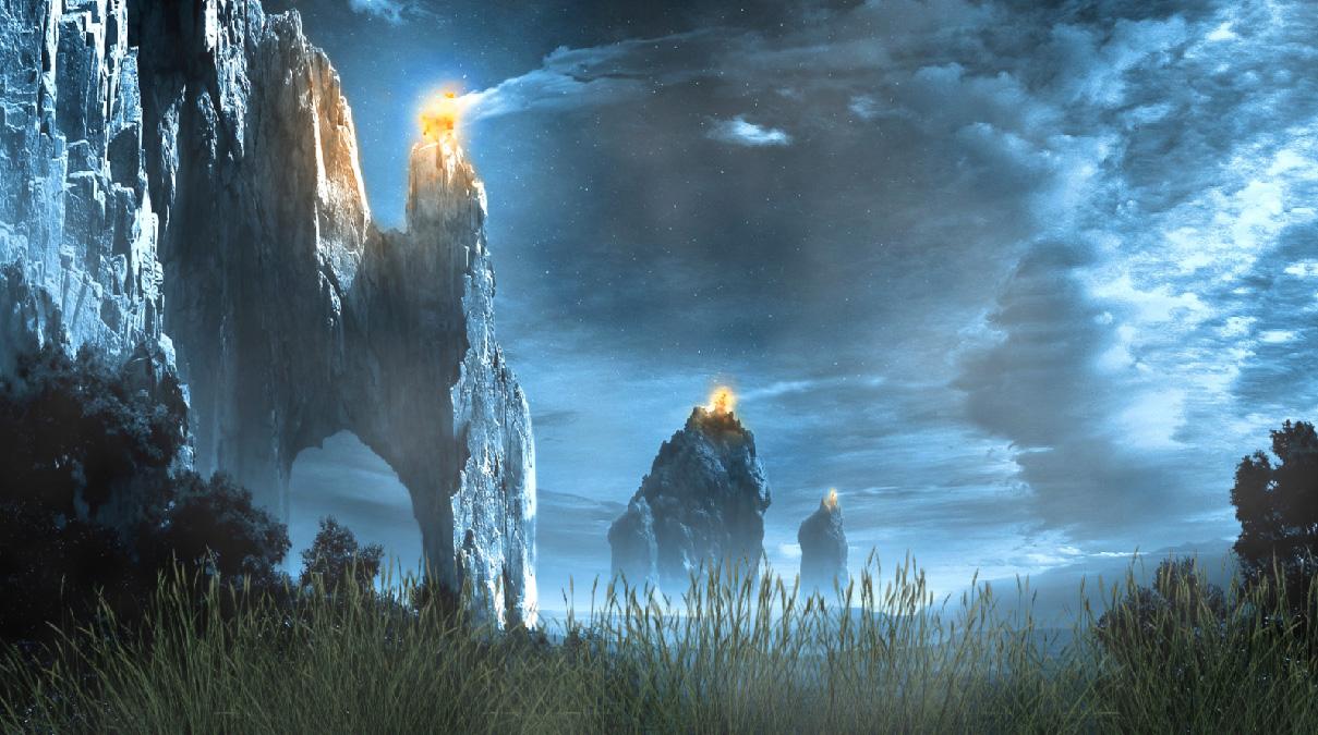 Epic Lands Screensaver