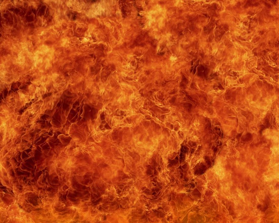 Fire Everywhere Screensaver