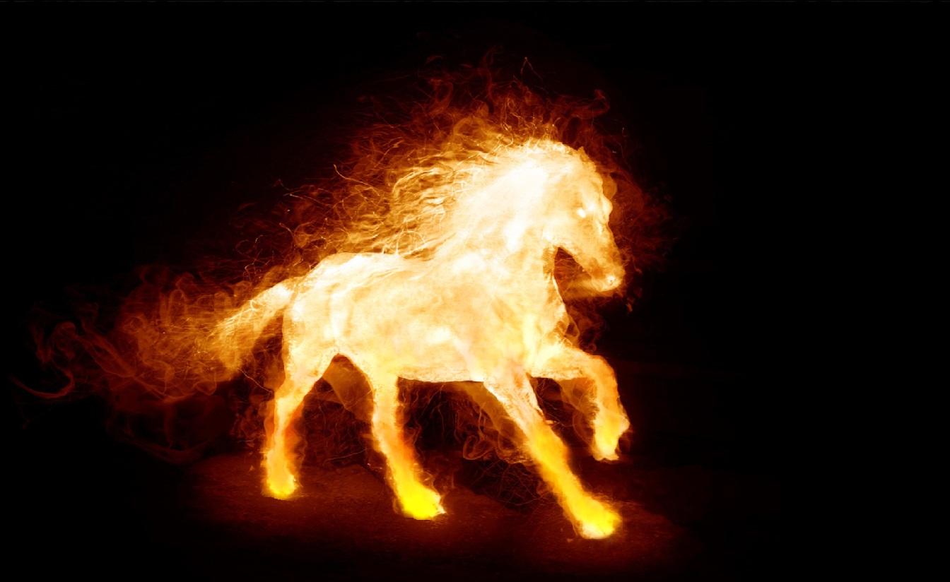 Fire Horse Screensaver