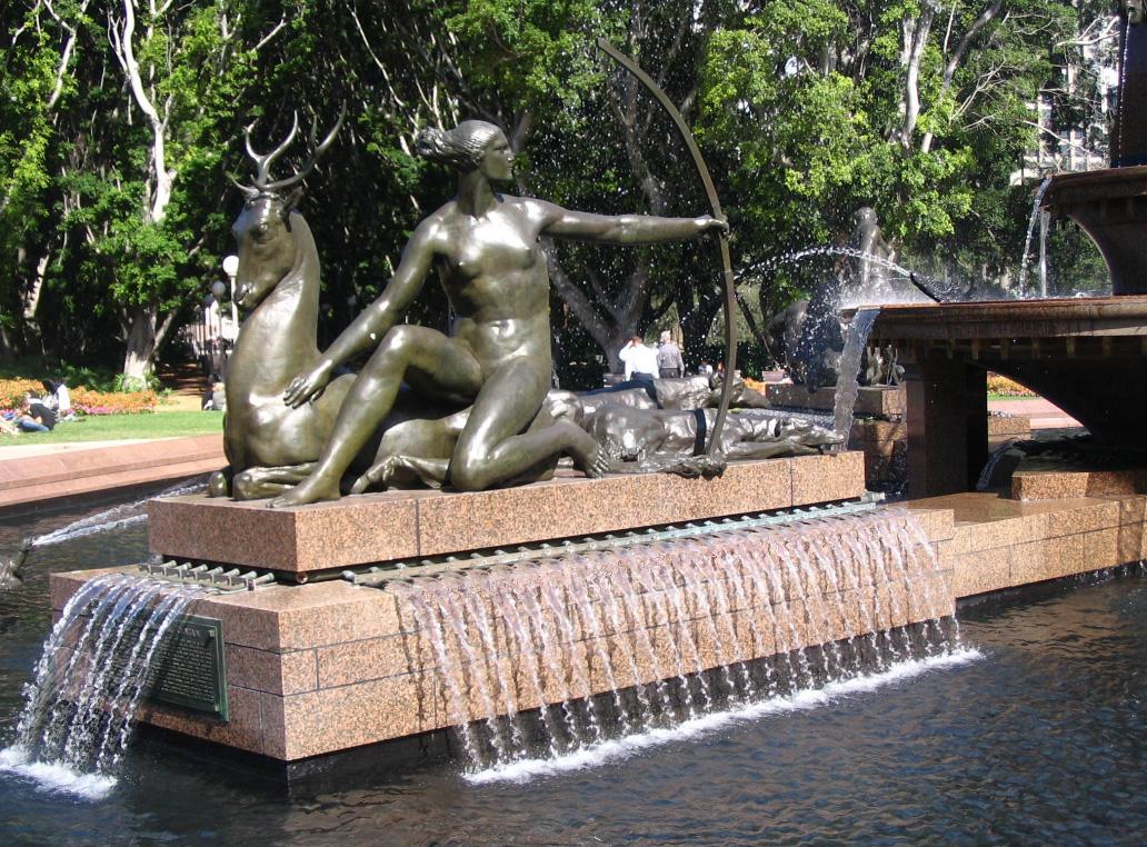 Fountain Screensaver