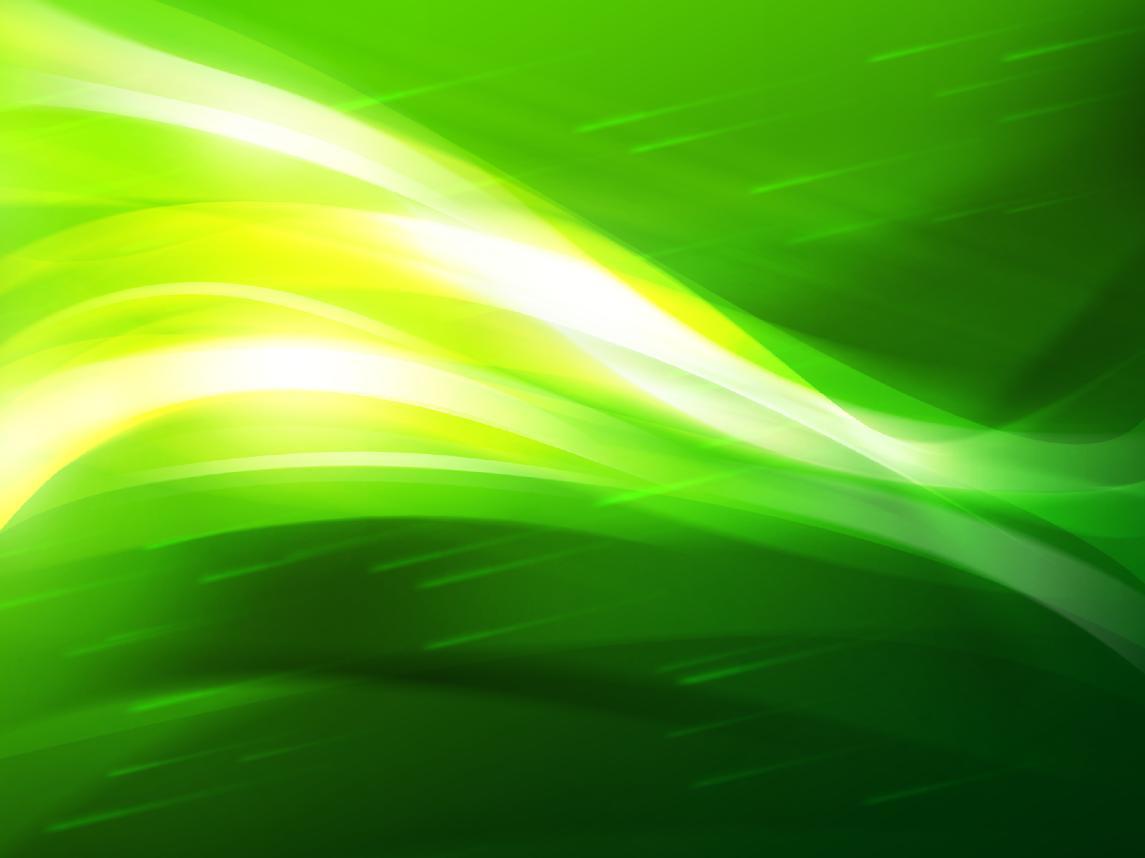 Green World Screensaver