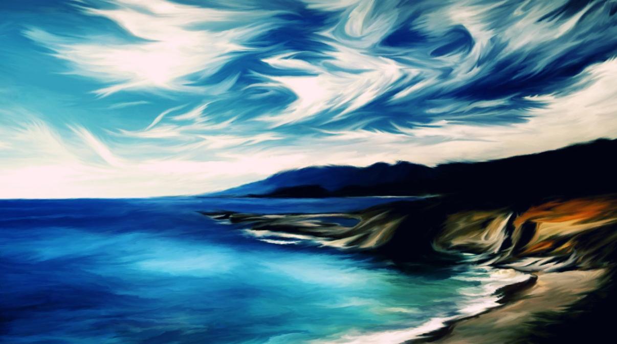 Live Painting Screensaver