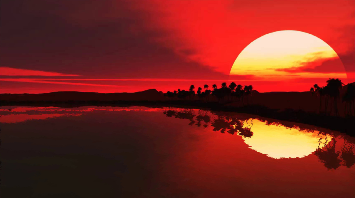 Magic Sunset Screensaver