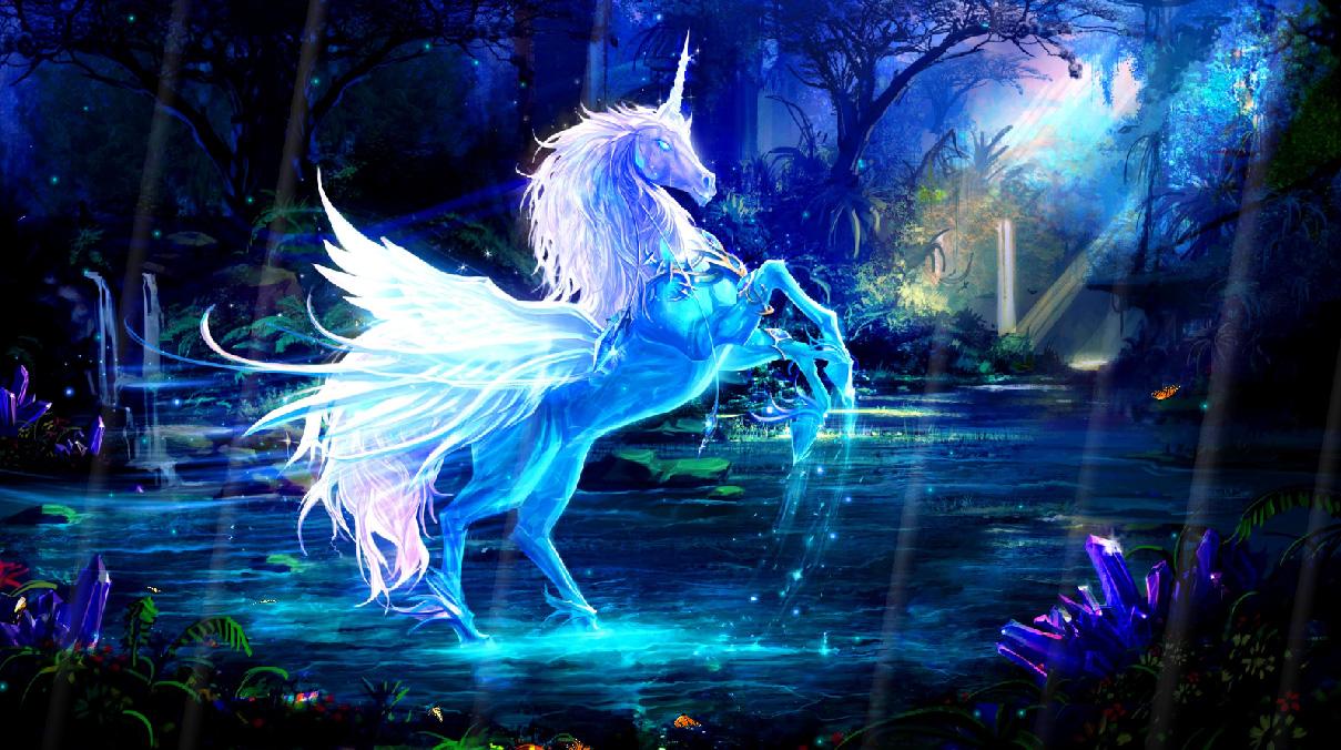 Magic Unicorns Screensaver