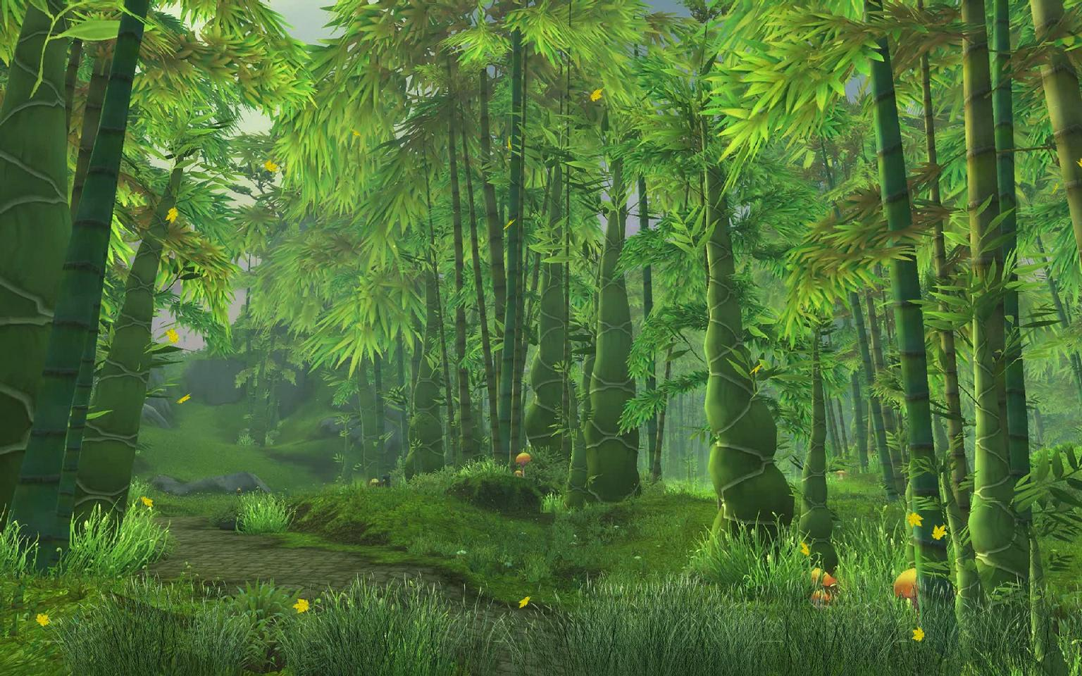 Mists of Pandaria Screensaver