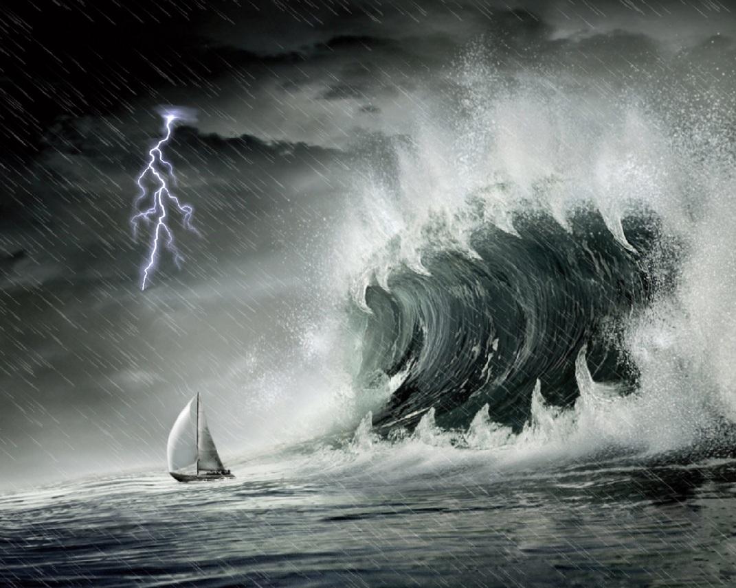 Ocean Storm Screensaver