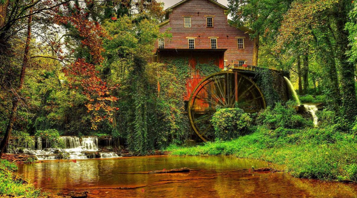 Old Mill Screensaver