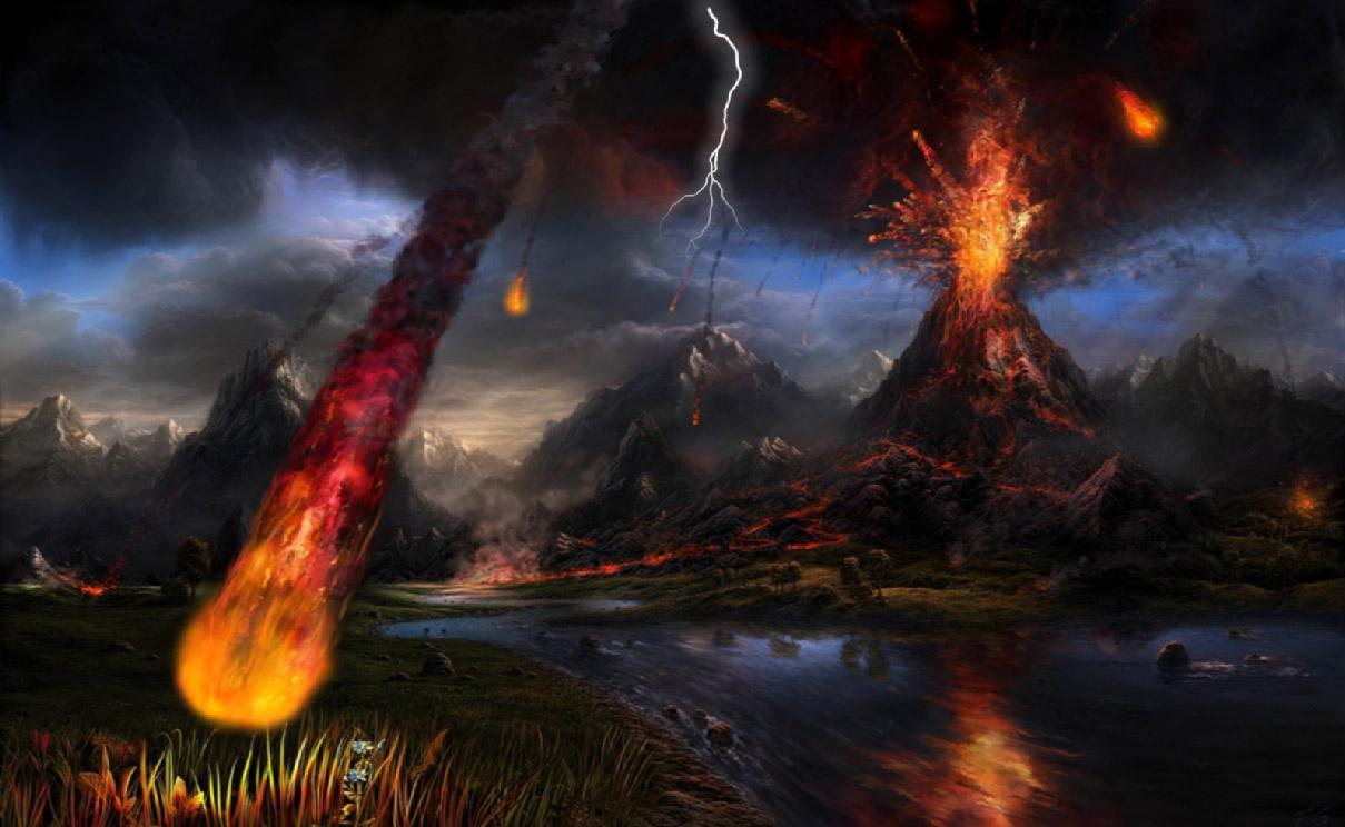 Volcano Screensaver