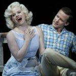 Megan Hilty as Ivy Lynn (as Marilyn Monroe), Will Chase as Michael Swift (as Joe DiMaggio) -- Photo by: Will Hart/NBC