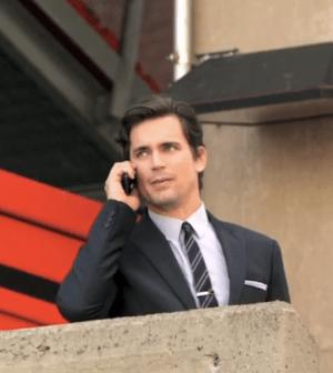 Will Neal remain on the run? Matt Bomer stars in White Collar (Image © USA Network)