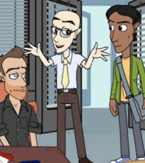 The Community cast gets animated (Image © NBC/Hulu)
