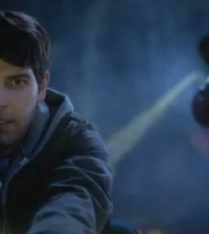 David Giuntoli as Nick Burkhardt, Russell Hornsby as Hank Griffin. Image © NBC