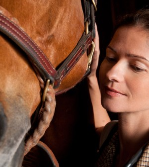 Jill Hennessy as Jo Carter in HBO's Luck. Image ©HBO