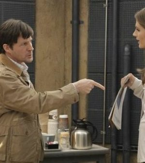 CASTLE: Tim Guinee and Stana Katic in '47 Seconds' © ABC/KAREN NEAL