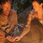 THE RIVER: Bruce Greenwood and Katie Featherstone. Image © (ABC/MARIO PEREZ)