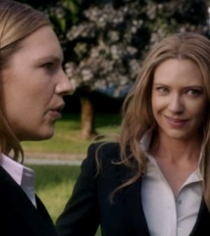 Anna Torv as Olivias in Frnge. Image © Fox Broadcasting Company.