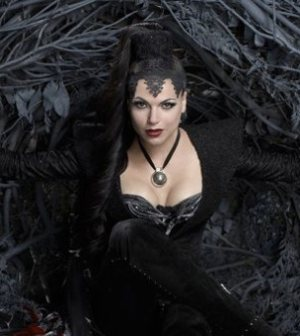 Lana Parrilla as the Evil Queen: Image courtesy and © ABC Television Network
