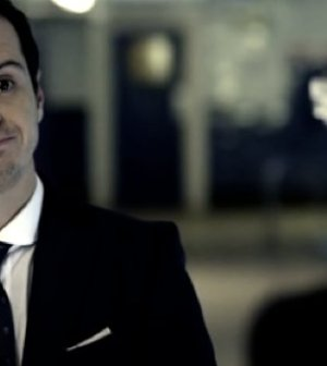 Andrew Scott as Jim Moriarty. Image © BBC