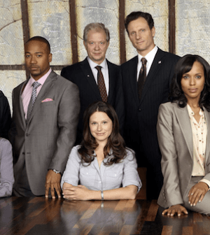 The cast of Scandal (Photo © ABC)