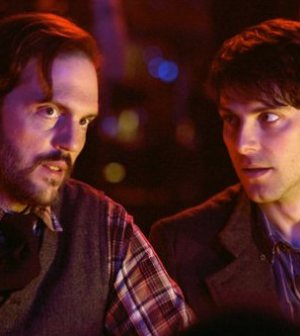 Silas Weir Mitchell (l) and David Giuntoli (r) in Grimm. Image courtesy and © NBC Universal