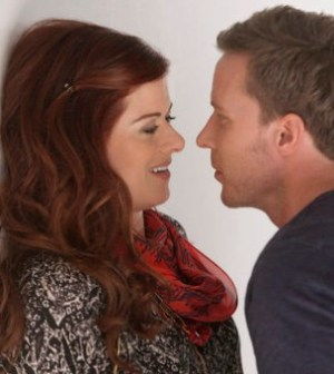 Julia (Debra Messing) and Michael (Will Chase) Image courtesy and © NBC