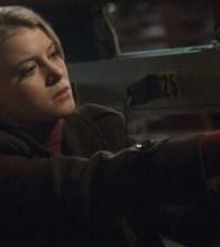 """ALCATRAZ: Rebecca (Sarah Jones) in the """"Webb Porter"""" episode of ALCATRAZ. Image © FOX"""