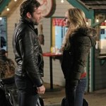 Eion Bailey and Jennifer Morrison in Once Upon a Time. Photo by Jack Rowand/ © ABC