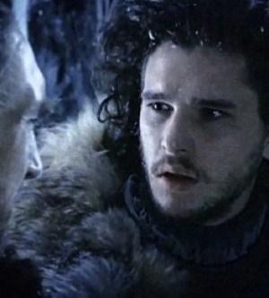 Kit Harrington as Jon Snow. Image copyright HBO.