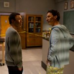 """COMMUNITY -- """"Basic Lupine Urology"""" Episode 317 -- Pictured: (l-r) Donald Glover as Troy, Danny Pudi as Abed -- Photo by: Justin Lubin/NBC"""