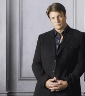 Nathan Fillion as Castle. Photo by Bob D'Amico. © ABC Television Network.