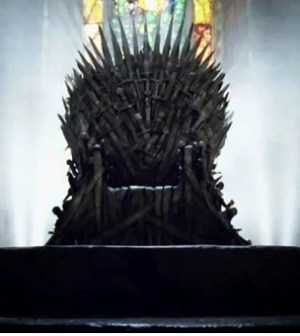 The Iron Throne Image © HBO