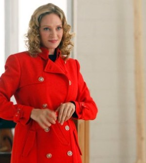 """SMASH — """"The Movie Star"""" Episode 111 — Pictured: Uma Thurman as Rebecca Duvall — (Photo by: Will Hart/NBC)"""