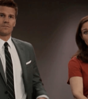 David Boreanaz and Emily Deschanel in BONES (Image © 2012 Fox Broadcasting Co.)